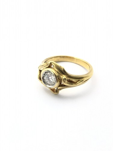 Antique Jewellery  - Art Nouveau ring - Late 19th century