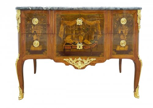Commode Transition estampillée J. Caumont
