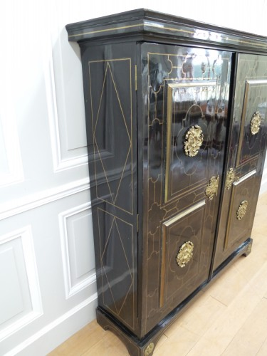 Furniture  - Louis XIV Cabinet in ebony