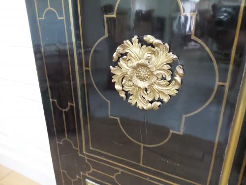 Louis XIV Cabinet in ebony -