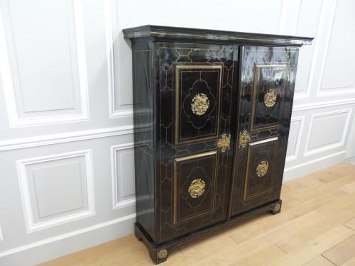 Louis XIV - Louis XIV Cabinet in ebony