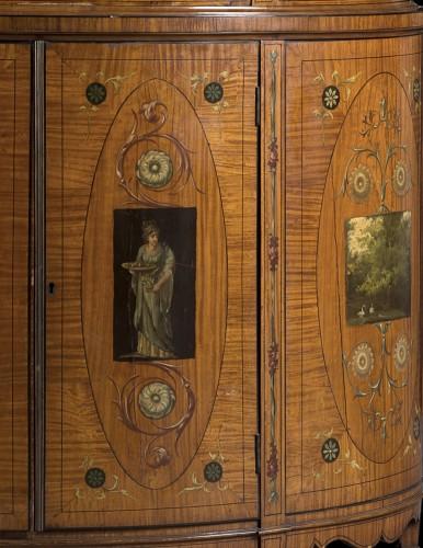 Furniture  - Showcase in satinwood