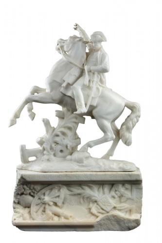 Napoleon on horseback - A. Petrilli Florence
