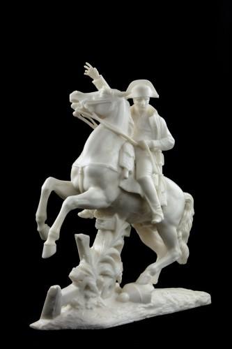 Napoleon on horseback - A. Petrilli Florence - Sculpture Style