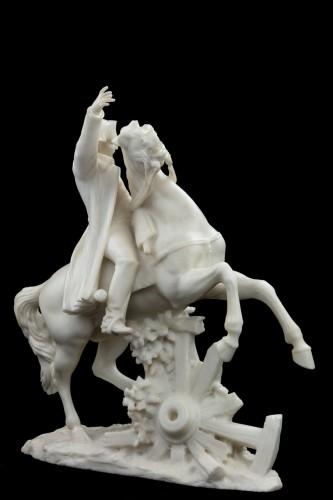 Sculpture  - Napoleon on horseback - A. Petrilli Florence