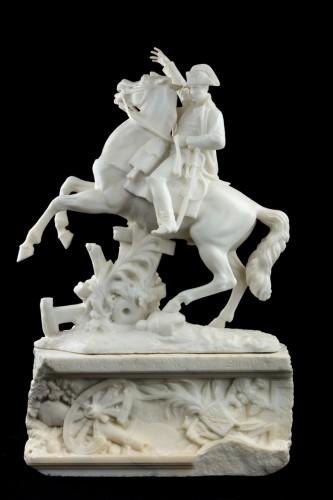 Napoleon on horseback - A. Petrilli Florence -