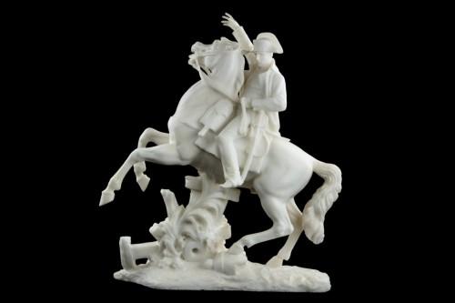 - Napoleon on horseback - A. Petrilli Florence