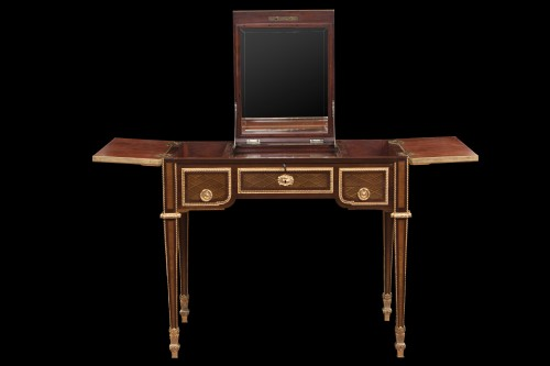 Dressing table in fine woods - Furniture Style Napoléon III