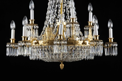 Chandelier 8-light - Lighting Style Restauration - Charles X
