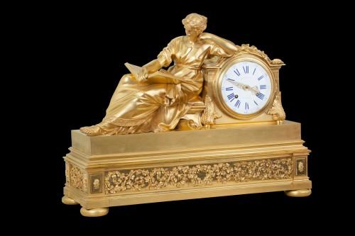 """Pendule """"A la Geoffrin"""" - Clocks Style Louis XVI"""