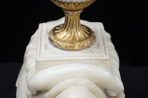 Antiquités - Rhinoceros candelabra
