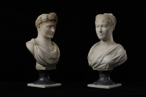 Napoleon and Maria Luisa of Hapsburg - Sculpture Style