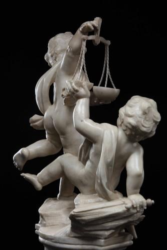 Sculpture  - Allegorical Group by Giuseppe Sanmartino