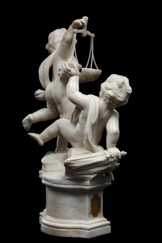 Allegorical Group by Giuseppe Sanmartino -