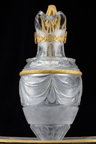 Versouse in bronze and crystal  - Glass & Crystal Style Restauration - Charles X