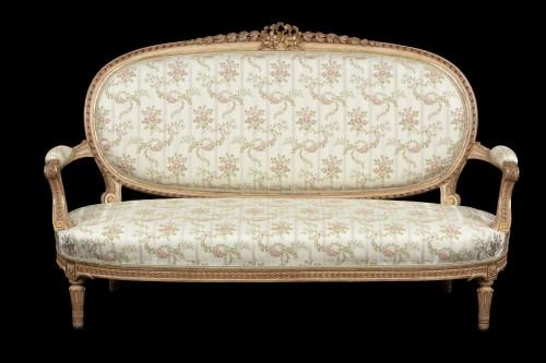 Sitting room set - Seating Style Louis XVI