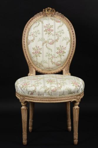 Sitting room set - Louis XVI