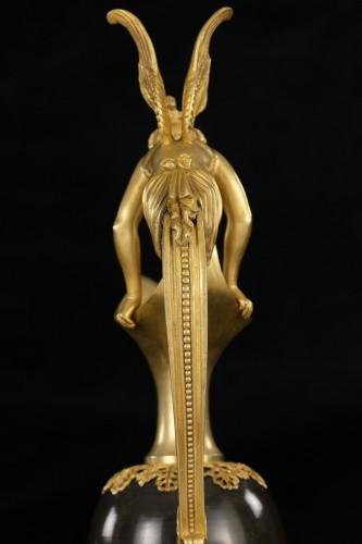 Decorative Objects  - Pair gilt bronze ewers attr. Claude Galle