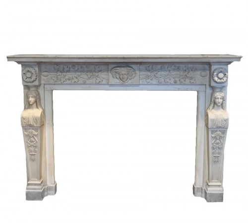 Neoclassical Italia Fireplace