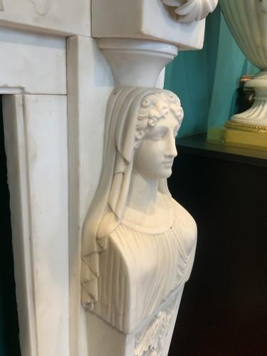 Neoclassical Italia Fireplace -
