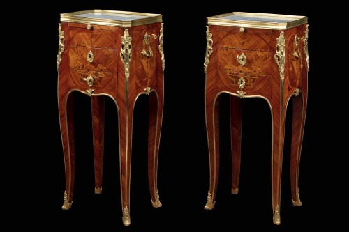 Pair of bedside tables - Furniture Style