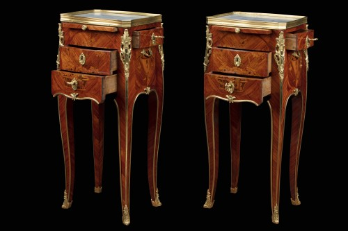 Furniture  - Pair of bedside tables