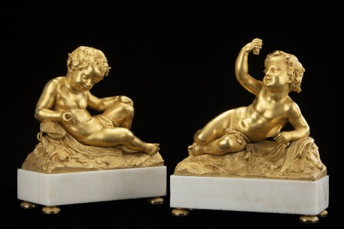 Pair of Putti - Directoire