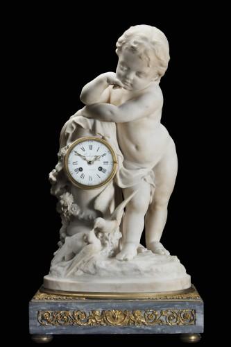 Pendule Lechopie a Paris - Louis XVI