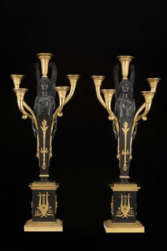 Empire five-light candelabra - Empire