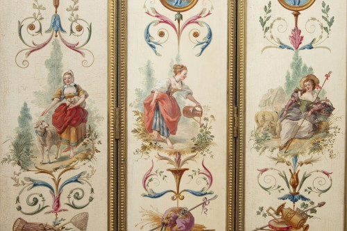18th century - Six-door screen