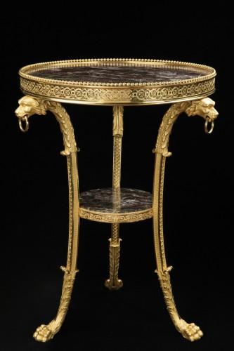 Gueridon in bronze - Furniture Style Directoire