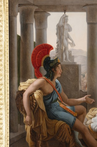 The lament of Dido -  F.L.  1851 - Paintings & Drawings Style