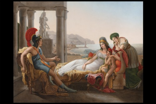 19th century - The lament of Dido -  F.L.  1851