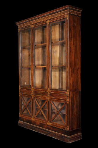Library - Furniture Style Restauration - Charles X