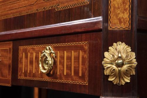 Secretaire, model of. Georg HAUPT - Sweden 19th century - Furniture Style