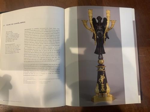 19th century - Pair of large candelabra