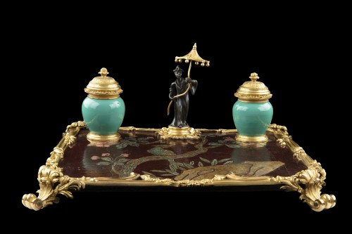 Inkwell LXV - Decorative Objects Style Louis XV