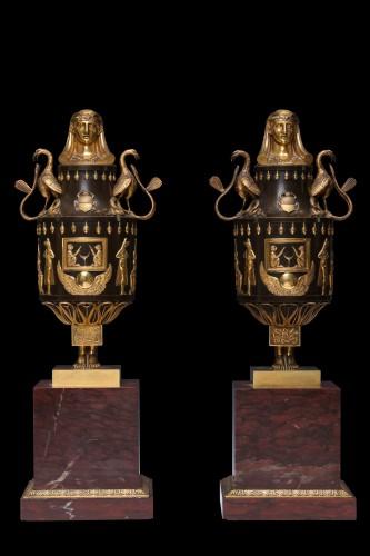 OSIRIS-CANOPUS vases - Decorative Objects Style Directoire