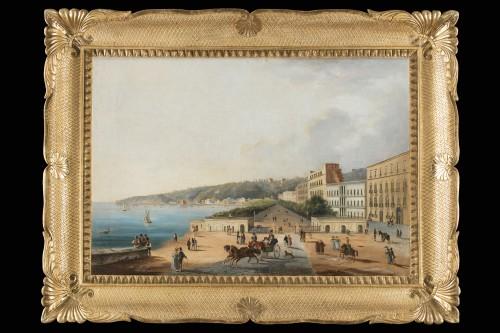 Municipal Villa of Naples - Paintings & Drawings Style