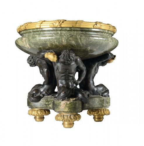 "Bronze centerpiece ""Three Newts"""
