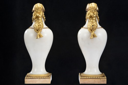 Decorative Objects  - Pair ewers attr. to' Pierre Gouthiére