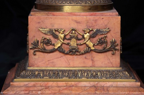 Decorative Objects  - Column in pink marble