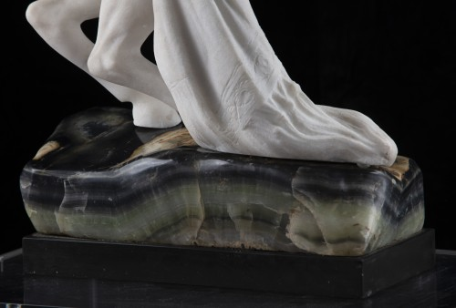 Sculpture  - Sculpture Odalisque on horseback