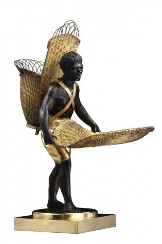 "Bronze Sculpture ""Au Negre""  - France Empire period"