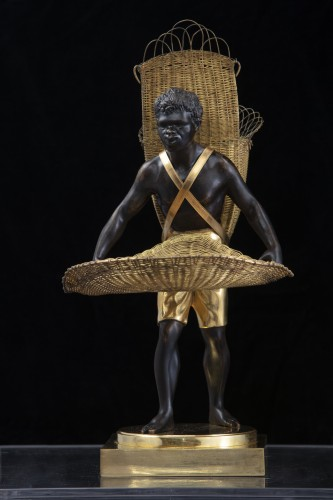 "19th century - Bronze Sculpture ""Au Negre""  - France Empire period"