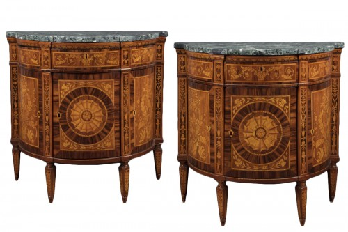 Pair of cupboards, Italy 18th century