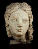 Head of a saint or virtue, xvi th c.