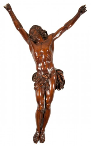 Boxwood carved christ, xvii th century