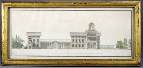 Project for a city hall for paris, c. 1770-1780 - c. maréchaux