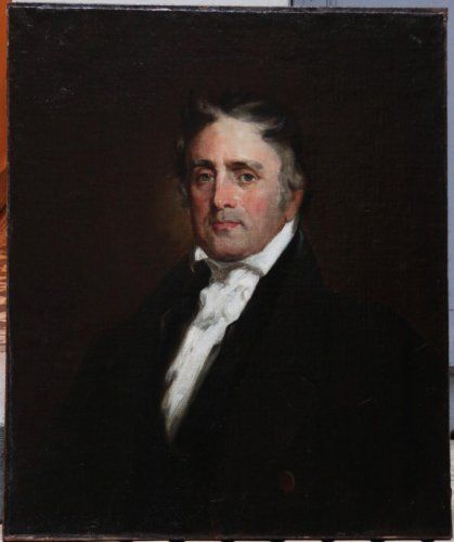 American Painting : Portrait Of Horace Binney att. to Henry Inman, 1832